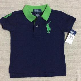 Polo Ralph Lauren Bebe Camisa Polo Big Pony 9 Meses!!