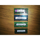 Memoria Pack Ddr3 1x2gb + 3x1gb Bus 1066 Sodimm Total 5gb