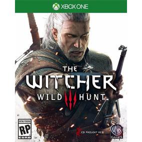 The Witcher 3 Iii Wild Hunt Português Mídia Física Xbox One