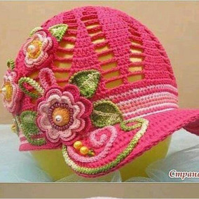 Chapéu Em Crochê