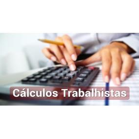 Planilha Cálculos Trabalhistas 40 Itens