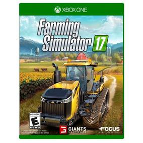 Jogo Fazenda Português Farming Simulator 2017 Xbox One Xone