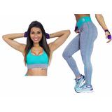 Conjunto Top + Legging Academia Fitness Treino Malhar