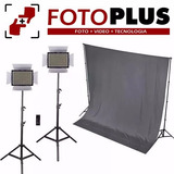 Kit De Estudio Para Video Profesional Nikon Canon Fotoplus