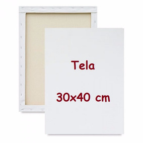 Tela Virada Para Pintura 20 Unid. 30x40 Cm Fabricação Própri