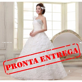 Vestido De Noiva Estilo Princesa Pronta Entrega - Debutante