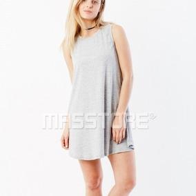 Remera Larga Vestido Paprika Musculosa Mujer Cómoda Fresca