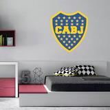 Vinilo Decorativo Impresion Escudo Boca Juniors Futbol Cabj