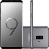 Smartphone Samsung Galaxy S9 Plus Cinza Tela Infinita De 6,