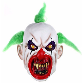 Máscara Palhaço De Látex Festa Halloween Terror