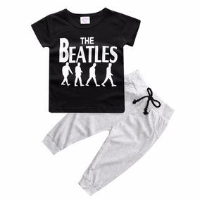 Conjunto Infantil Rock Para 2 Anos The Beatles Ponta Entrega
