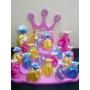 Souvenirs Princesas Disney Vestidos!!10 Und. Central Maqueta