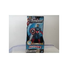 2 Bonecos Os Vingadores Migth Battlers Original Hasbro