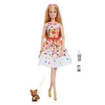 Barbie Model Muse The Look 2017 Park Pretty Articulada Nova