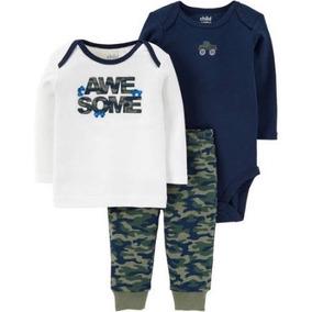 Camisa Pañalero Pantalon Carters Recien Nacido Envio Gratis