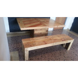 Mesas Y Muebles De Pallets (paletas Recicladas)