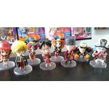 Set 8 Figuras Muñecos One Piece Luffy Zoro Sanji Nami Franky