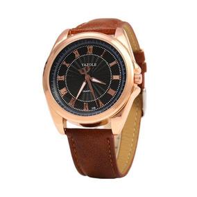 Relógio Masculino Original Barato Luxo Social Yazole