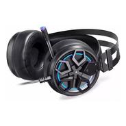 Headset Gamer Motospeed H60 Preto 7.1 Led Azul Usb