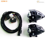 Kit Led U5 Auxiliar Moto Cable Klr Vstrom 120w Com3
