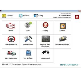 Scanner Automotivo - Atualização Hd Scanner G1 Planatc