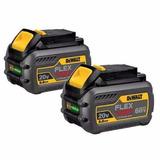 Dewalt Dcb606-2 20/60v Max Flexvolt 6.0 Ah Baterias X2