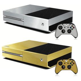 Adesivo Skin Para Xbox One Fibra De Carbono