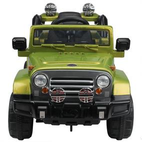 Jeep De 12v Niños Estilo Paseo En Batería Accionado Coche