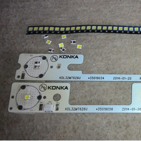 Led 6v Tv Semp,backlight Barra Konka,2835, 200ma, Original.