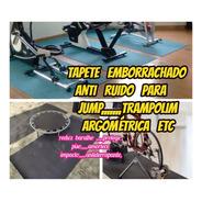 Tapete Borracha 4mm Anti Ruido Para Bicicleta 2.00x1.00mts