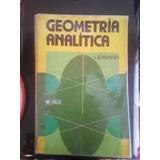 Geometría Analítica Lehmann Libro Físico (envió Gratis)