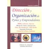 Dirección Y Organización De Pymes Y Emprendedores