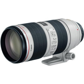 Lente Canon Ef 70-200mm F/2.8l Is Ii Usm Telefoto Zoom