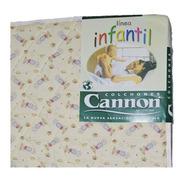 Colchón Cannon 100x70x10 Bebé Practicuna Infantil Cuna