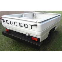 Trailer Batán Caja De Camioneta Peugeot 504 Reforzada
