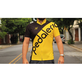 Camisa De Ciclismo Manga Curta Pedaleria