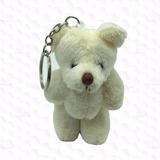 Kit 10 Chaveiros Lembrancinha Mini Ursinhos De Pelúcia 8cm