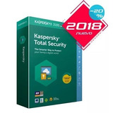 Licencia Kaspersky Total Security 2018 3 Pc 1 Año Original