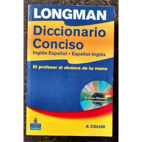 Longman Diccionario Conciso Ing-esp Esp-ing +cd Envio Gratis