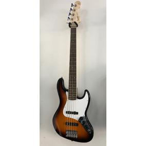 Baixo Squier By Fender Affinity 5c Jazz Bass