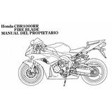 Manual Usuario Honda Cbr 1000 -2006-