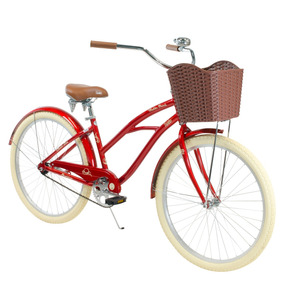 Bicicleta Vintage Retro Mujer Turbo Mailbu R-26 Vino 15500
