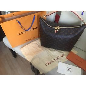 Hermosa Bolsa Lv Sully Mm Monogram Canvas Louis Vuitton