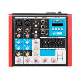 Stereo Sound Mixer Echo Equalizer - Áudio Profissional e DJs
