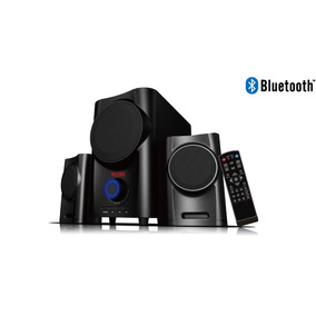 Caixa De Som Subwoofer Satellite As-898bl Bluetooth Sd/usb/