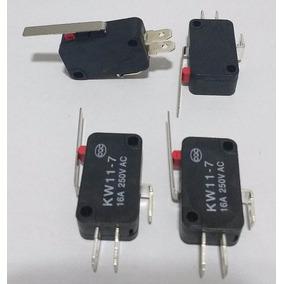 Chave Micro Switch Com Haste 27 Mm (fim De Curso)