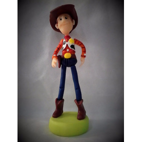 Sheriff Woody Toy Story Adorno Porcelana Fria Torta