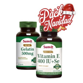 Pack: Gelatina 500 Mg + Vit E + Selenio