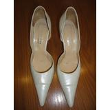 Zapatos Blancos/nacarados Belle De Jour
