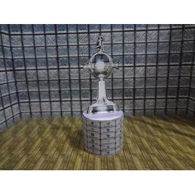 Mini Taça Paper (mini Craque) Com Base De Mdf - Libertadores